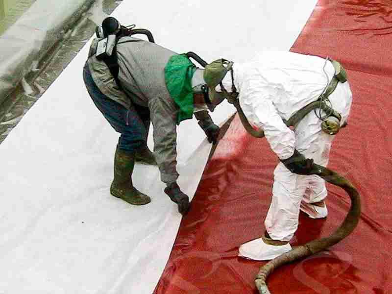 rivestimento tetti poliurea elastopol edilizia