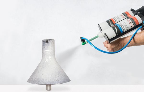 applicazione spray poliurea in cartucce