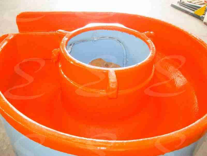 buratto rivestimento colorato poliurea elastopol