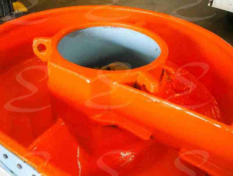 rivestimento protezione antiabrasione buratto in poliurea