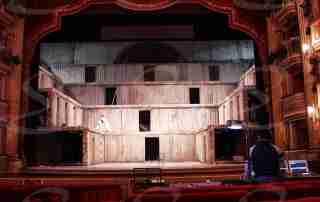 scenografia teatro rivestimento poliurea resisitente fuoco