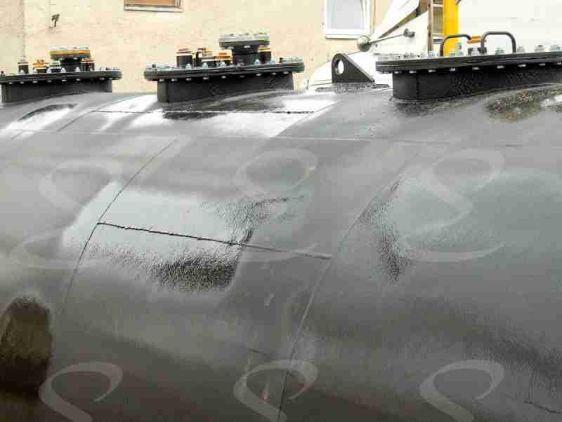 rivestimento poliurea antiabrasione per serbatoio