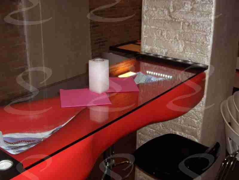 rivestimento poliurea tavolo pizzeria elastopol