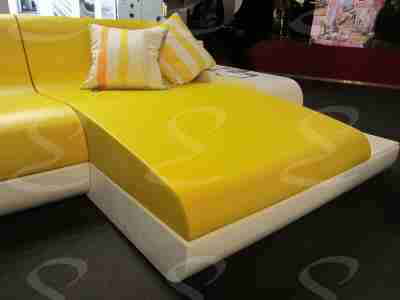 rivestimento poliurea divano giallo design elastopol