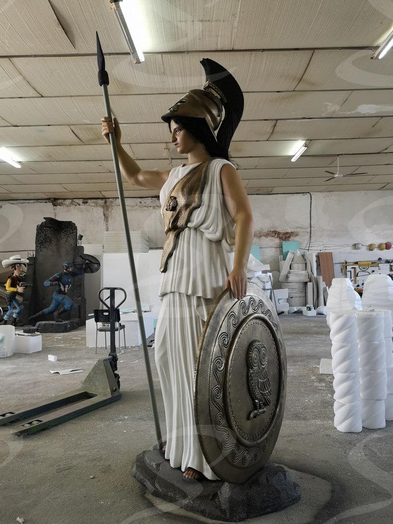statua polistirolo poliurea scenografie