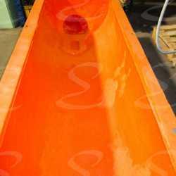 rivestimento antiabrasione in poliurea per vasche