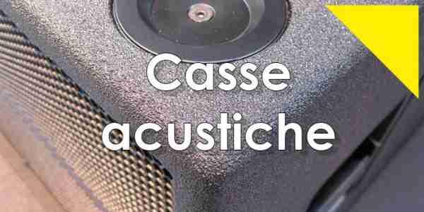 Poliurea rivestimento casse acustiche