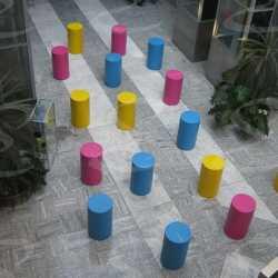 eps cylindrical tables polyurea styropor