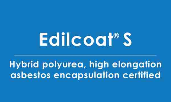 edilcoat-S polyurea asbestos encapsulation certified
