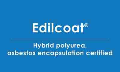 edilcoat polyurea asbestos encapsulation certified