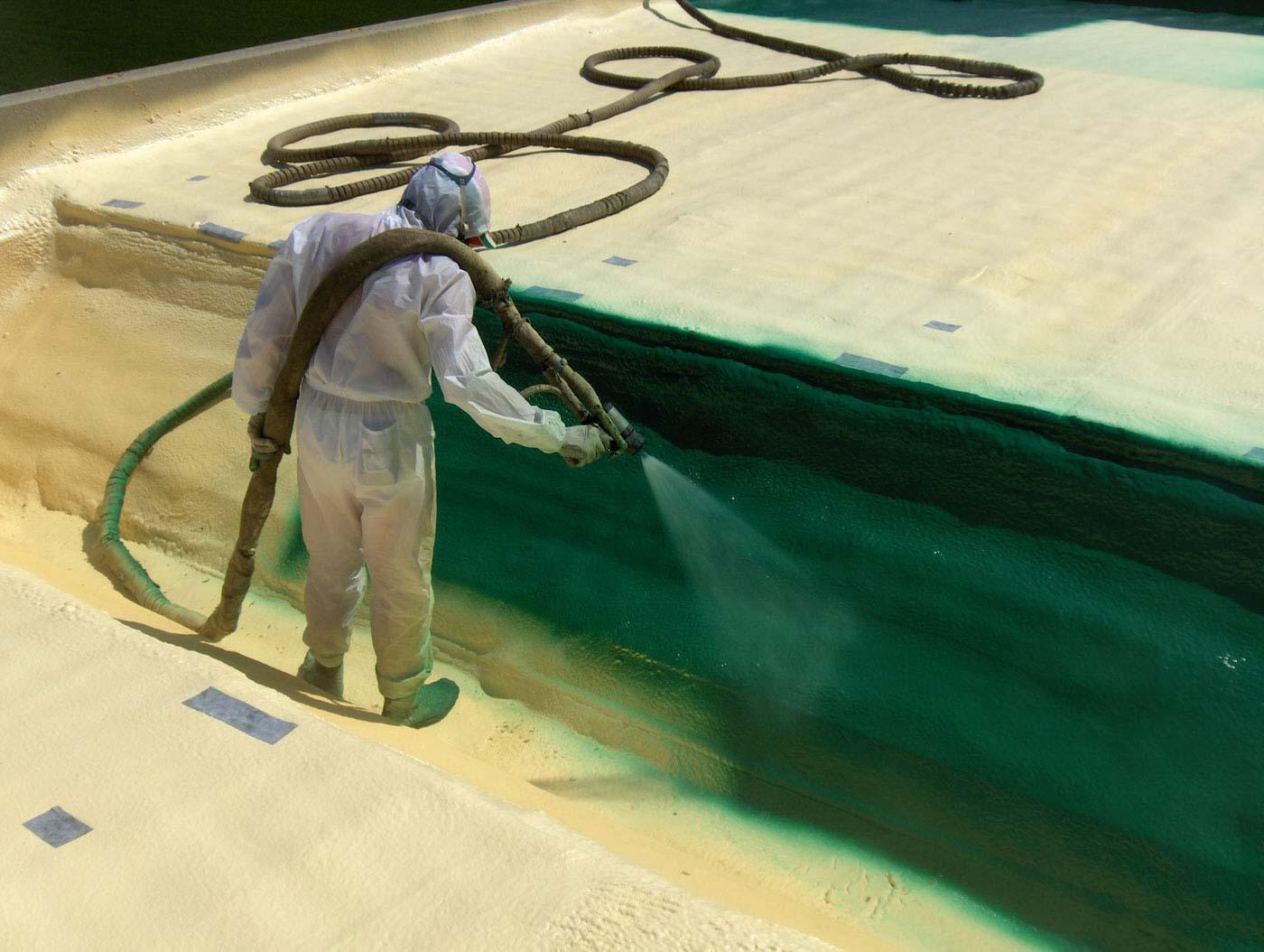 polyurea spray per rivestimento e protezione edilizia poliurea