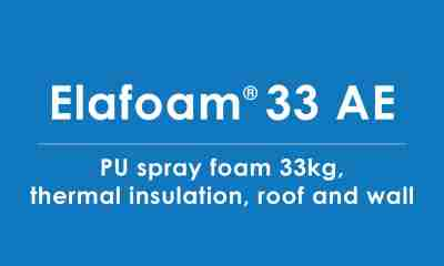 elafoam-33-AE polyurea thermal insulation