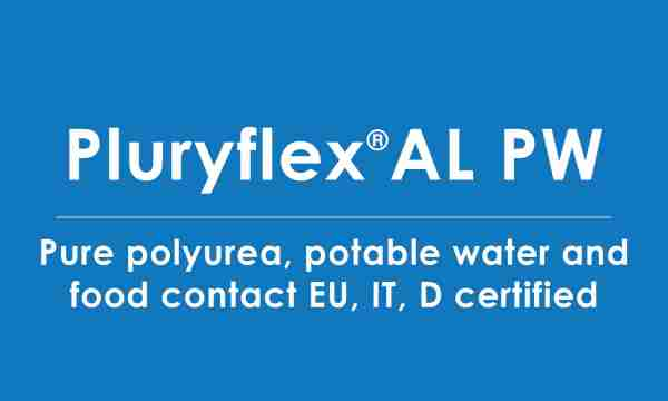 pluryflex-AL-PW polyurea food contact certified