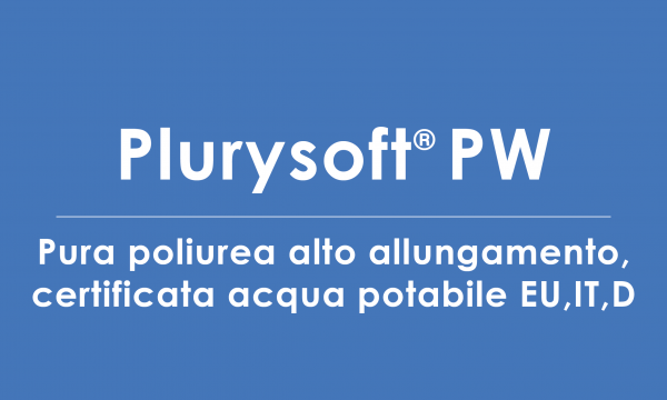 plurysoft-PW poliurea certificata acqua potabile