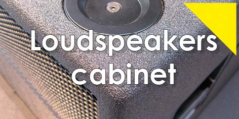 polyurea loudspeakers flight cases lautspreaker