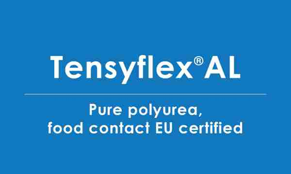 tensyflex-AL food contact certified polyurea