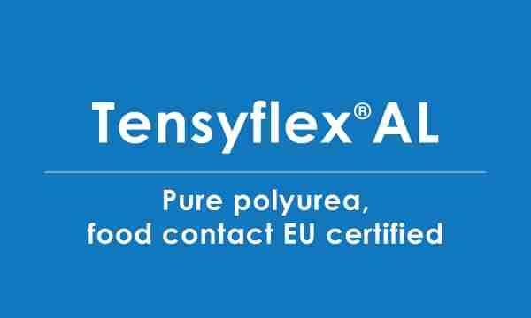 tensyflex-AL food contact certified polyurea